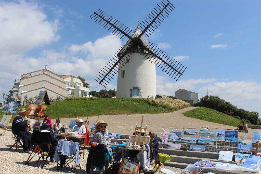 Journée des peintres et sculpteurs à Jard-sur-Mer 15 mai 2016