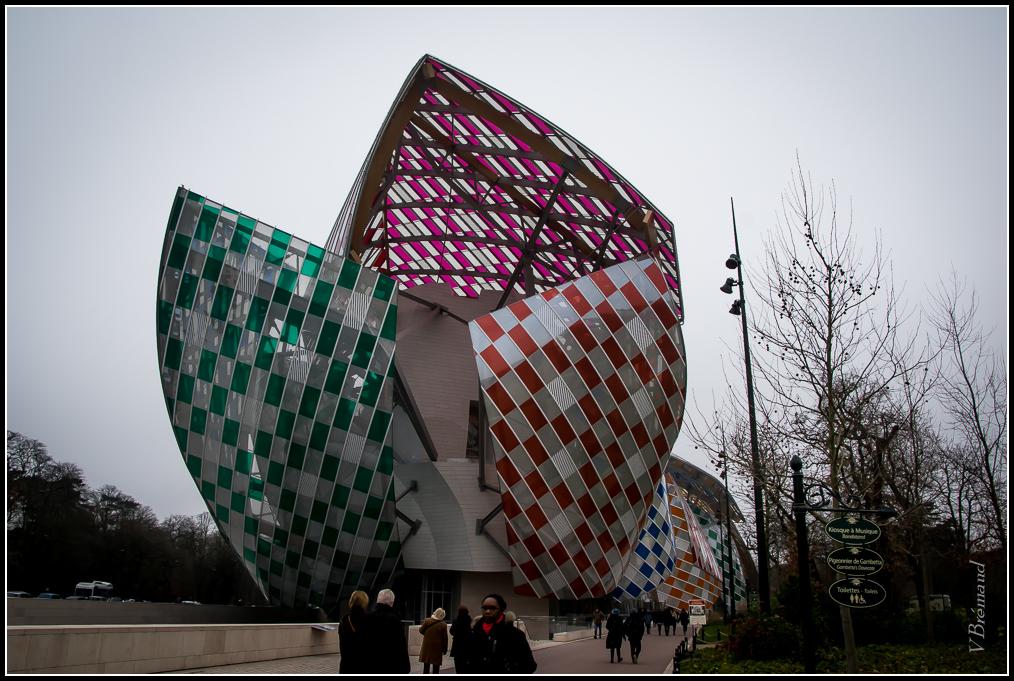 Visite du musée Vuitton